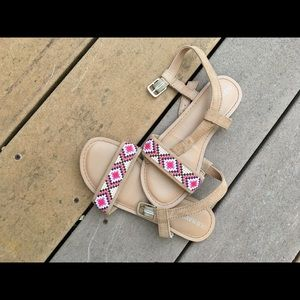 Gil's beaded summer sandals